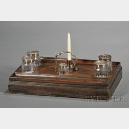 George III Seven-piece Desk Set