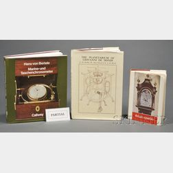 Twenty-five Clock and Watch-related Books and Pamphlets