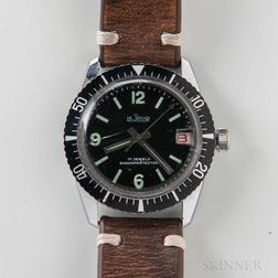 Le Jour Stainless Steel Manual-wind Dive Watch