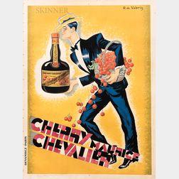 Roger de Valerio (French, 1886-1951)      Cherry Maurice Chevalier