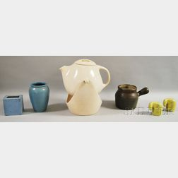 Four Pieces of Assorted Art Pottery