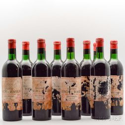 Chateau Lynch Bages 1966, 12 bottles