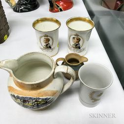 Seven English Ceramic Items