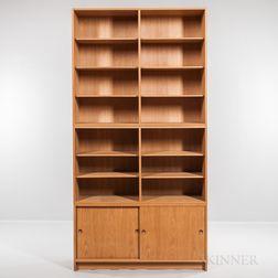 Borge Mogensen for Karl Andersson & Soner Oresund Oak Cabinet and Two Bookshelves