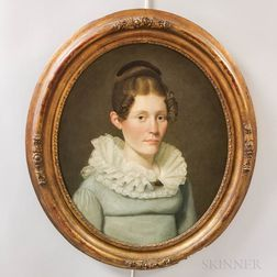 American School, 19th Century       Portrait of a Woman