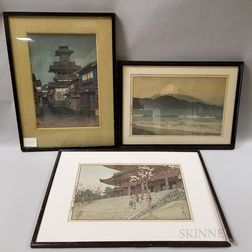 Three Shin Hanga   Prints