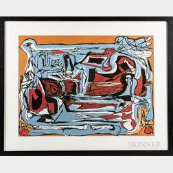 Umberto Romano (Italian/American, 1905-1982)      Abstract.