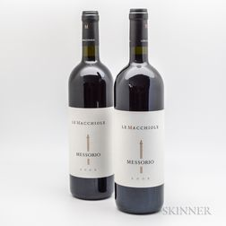 Le Macchiole Messorio Toscana 2005, 2 bottles