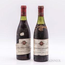 Remoissenet Chambertin Latricieres 1961, 2 bottles