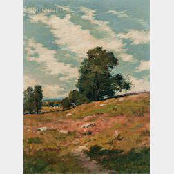 Alexander Theobald Van Laer (American, 1857-1920)      Pastoral Hillside