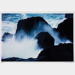 Ko Si-chi (Taiwanese, b. 1929)      Rocks and Water
