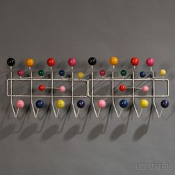 Pair of Charles and Ray Eames Hang-It-Alls