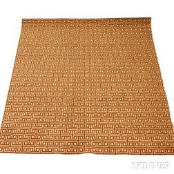 Contemporary Synthetic Fiber Geometric-pattern Carpet