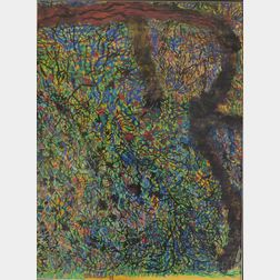 Yutaka Ohashi (Japanese/American, 1923-1989)      Abstraction