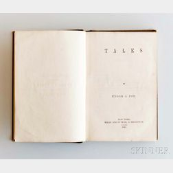 Poe, Edgar Allan (1809-1849) Tales.