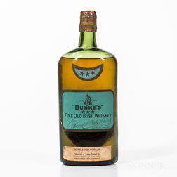 Burkes Fine Old Irish Whiskey, 1 bottle