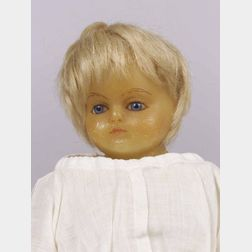 Small Lucy Peck Poured Wax Doll