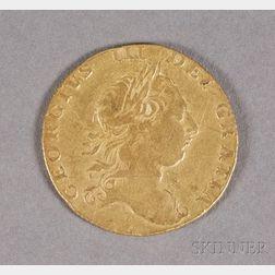 1763 British Guinea George III Gold Coin