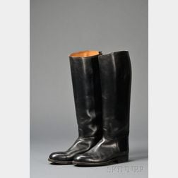 Pair of Abercrombie & Fitch Men's Leather Riding Boots
