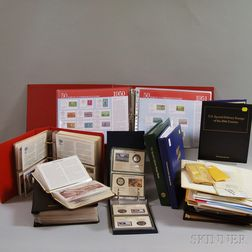 Group of Commemorative Stamps and First Day Covers