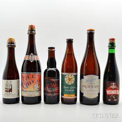 Mixed Sour Ales, 3 375ml bottles 1 500ml bottle 2 750ml bottles