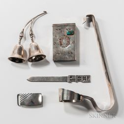 Five Silver Items