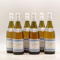 Chartron & Trebuchet Corton Charlemagne 1999, 6 bottles