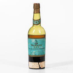 Burkes Fine Old Irish Whiskey, 1 23oz bottle