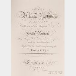 (Maps and Charts, Atlantic Ocean), Des Barres, Joseph F. Wallet (1722-1824)
