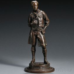Robert Tait McKenzie (Canadian, 1867-1938)       Boy Scout