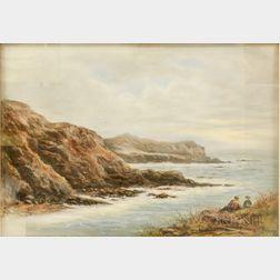 Attributed to John Appleton Brown (American, 1844-1902)      Coastal Landscape