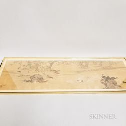 Partial Handscroll Depicting a Landscape with Birds