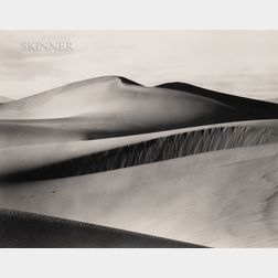 Willard Van Dyke (American, 1906-1986)      Death Valley Dunes