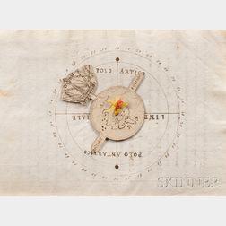 Cesareo, Agostino (fl. circa 1568) LArte della Navigatione con il Regimento della Tramontana, e del sole; e la Regola del flusso, e re