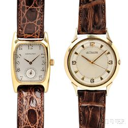 Hamilton and LeCoultre Wristwatches