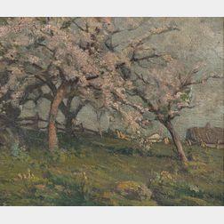 William Jurian Kaula (American, 1871-1953)      Spring Orchard