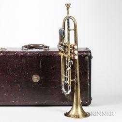 Trumpet, C.G. Conn Connstellation, Elkhart