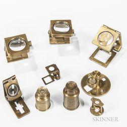 Nine Linen Provers Microscopes