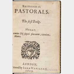 Browne, William (1590-c. 1645) Britannia's Pastorals. First and Second Books.