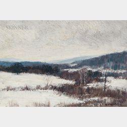 Clark Greenwood Voorhees (American, 1871-1933)      Winter Landscape