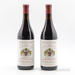 Mascarello Barolo Monprivato 2004, 2 bottles