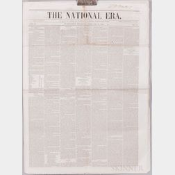 The National Era   and The Liberator  , Six Newspapers.
