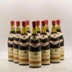 J. Vidal Fleury Chateauneuf du Pape 1971, 10 bottles