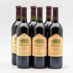 Chimney Rock Cabernet Sauvignon 1997, 6 bottles