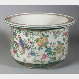 Chinese Export Porcelain Fish Bowl/Planter