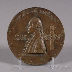 George Washington Bronze Inaugural Centennial Medal