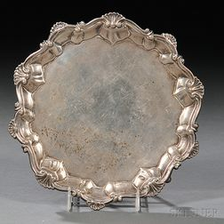 George III Sterling Silver Card Tray