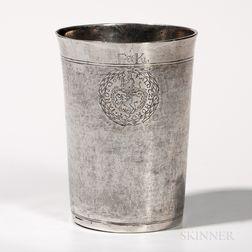 Baltic Silver Beaker