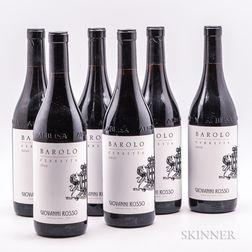 Giovanni Rosso Barolo Cerretta 2010, 6 bottles