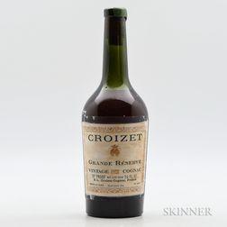 Croizet Grande Reserve Vintage Cognac 1928, 1 bottle